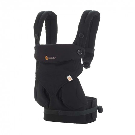 Ergobaby 360 Baby Carrier All Positions Pure Black Naturiou