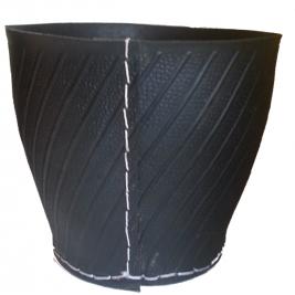 Corbeille gigogne en pneu recyclé Tadé