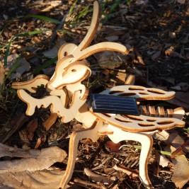 Mock-up of The preying Mantis solar Héliobil