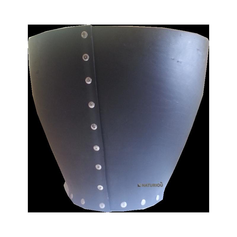 grand cache pot 55 h50 en pneu recycl tad naturiou. Black Bedroom Furniture Sets. Home Design Ideas