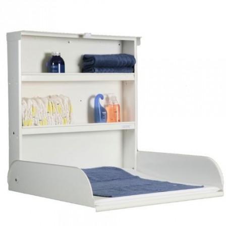 table langer murale blanche fifi par bybo naturiou. Black Bedroom Furniture Sets. Home Design Ideas