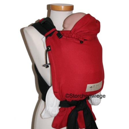 Porte-bébé hybride Storchenwiege Babycarrier Rouge 1f43185c81e
