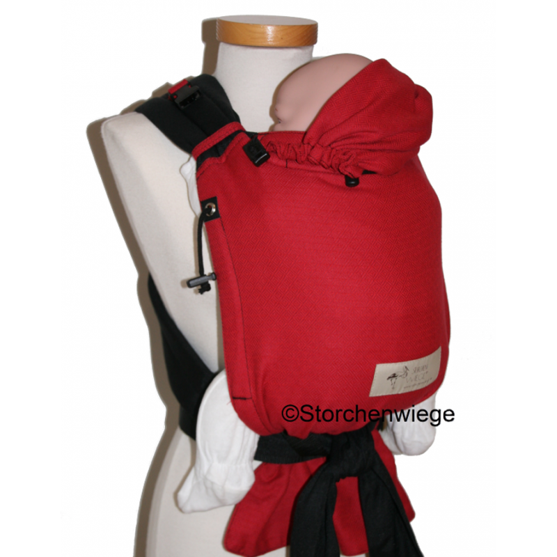 4add9dacbdd7 Nouveau BabyCarrier Storchenwiege coloris Choco 2015