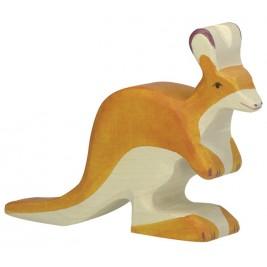 Petit Kangourou en bois Holztiger
