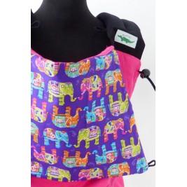 Porte-bébé Buzzidil Babysize Pink Elephants