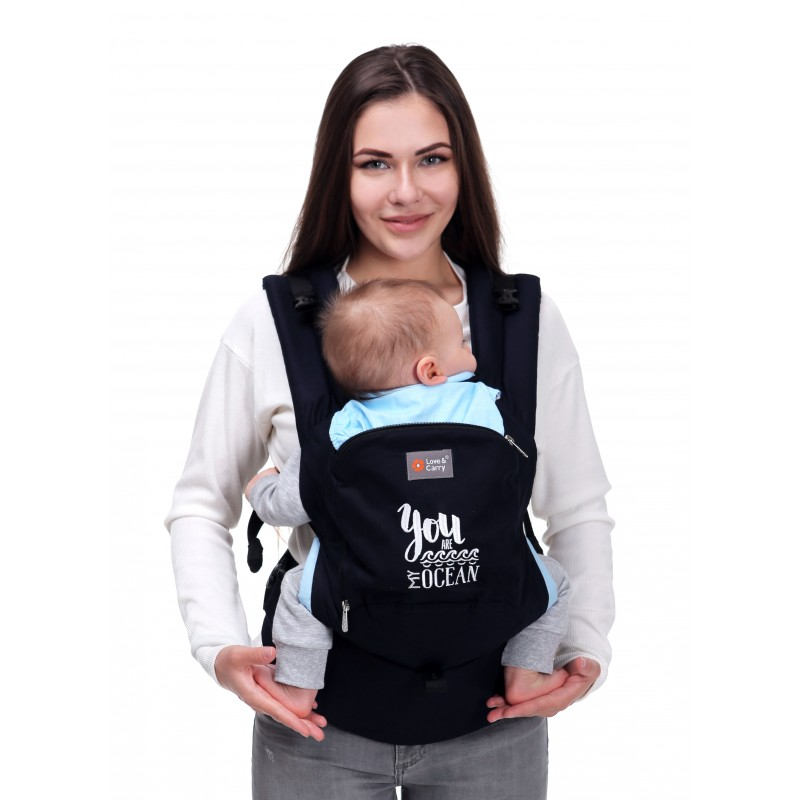 ... Baby carrier physiological, Love and Carry Air My OCEAN ... e1afd2a0e90