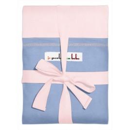 Echarpe Originale JPMBB Rose Ballerina poche Bleu galet