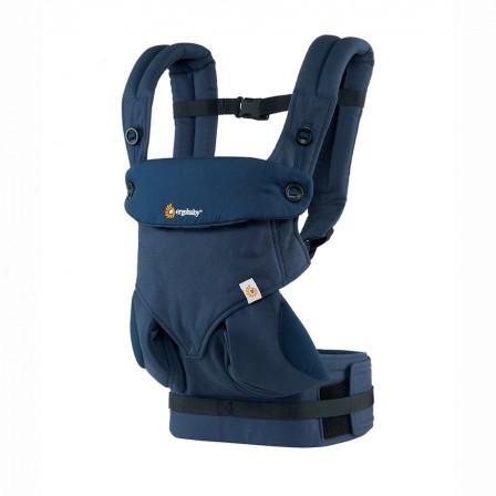 nouveau Porte-bébé 360 Ergobaby Bleu nuit 4 positions
