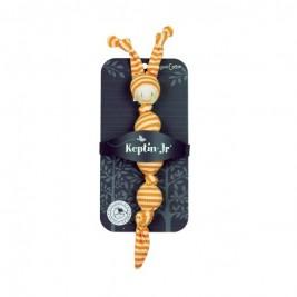 Doudou coton bio orange Keptin 25 Cm