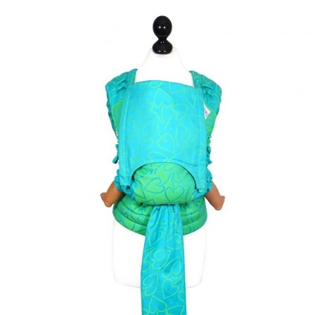 Door-baby Fidella Flytai new size heart, green and turquoise 5b13a458b4c
