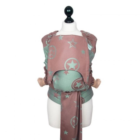 Fidella Fly-Taï Outer Space brun roux jade- bambou New size edition limitéee