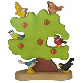 Pommier pour oiseaux Holztiger