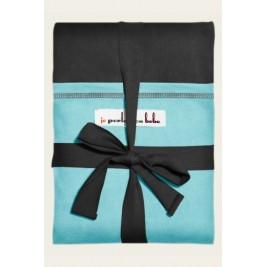 JePorteMonPoupon Echarpe porte-poupon JPMBB noire turquoise