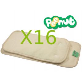 Pack complet couches lavables TE2 PeeNut de Totsbots