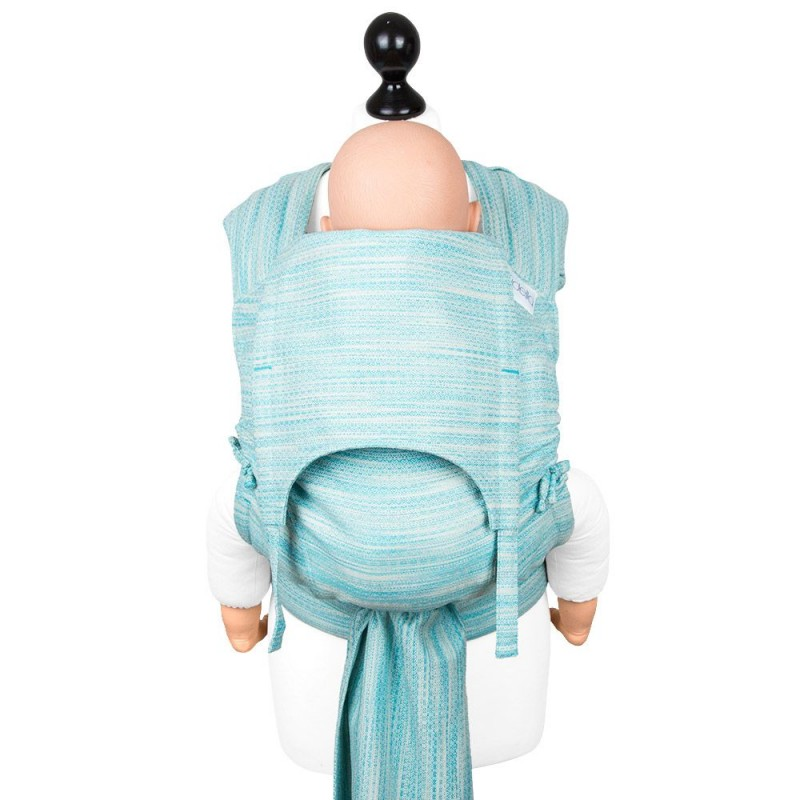 Fidella Fly Tai - Mei Tai baby carrier - Heart Rows - gradient Toddler size 73506868896