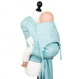 Fidella Fly Tai - Mei Tai baby carrier - Heart Rows - gradient Toddler size