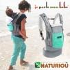 PhysioCarrier JPMBB éléphant poche Vert azur limited edition