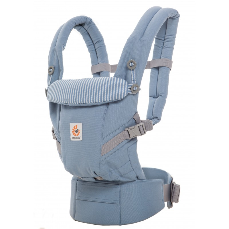 e70329c74fdc Ergobaby Adapt Bleu Azur  Ergobaby Adapt Bleu Azur porte-bébé physiologique
