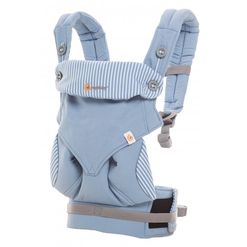 ergobaby 360 bleu azur 4 positions physiologiques. Black Bedroom Furniture Sets. Home Design Ideas