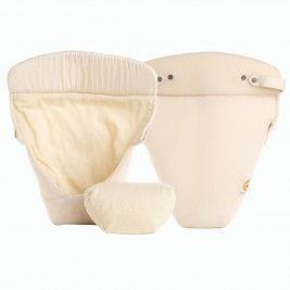 Ergobaby Easy Snug Infant Insert Cool Air Mesh Natural