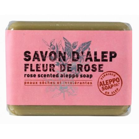 savon d'alep rose