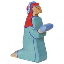 Baltazar 2 bleu, roi mage par Holztiger