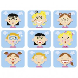 Magnetic game Funny heads GOKI