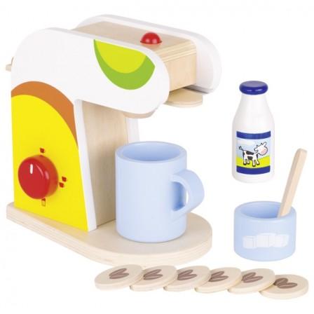 Machine à café en bois GOKI