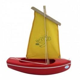 Thonier Tirot rouge voile jaune 24 cm modèle 203