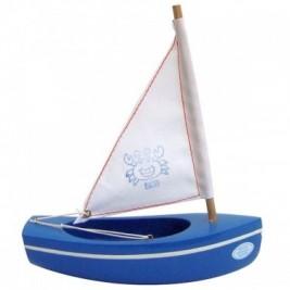 Thonier Tirot bleu voile blanche 17 cm modèle 200