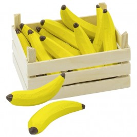 Cagette de Bananes en bois Goki