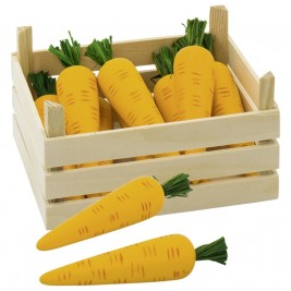 Cagette de carottes en bois Goki