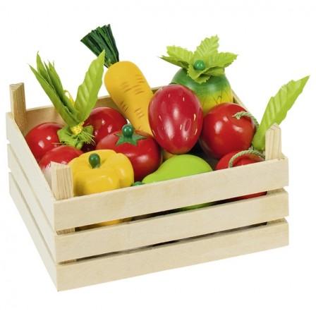 prix cagette bois fruits et legumes