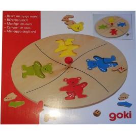 The carousel bears Goki