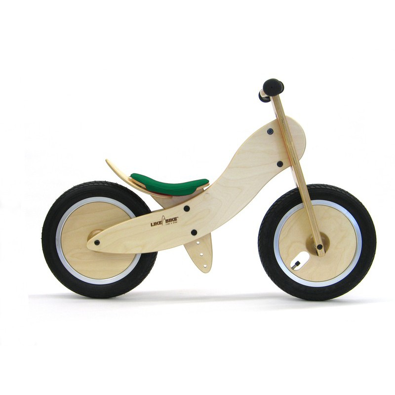 Likeabike Mini Wooden Bicycle Without Pedal