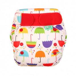 Couche lavable TE2 Totsbots PeeNut Parapluies
