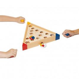 Skill game, cooperative Tricours Goki