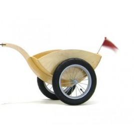 Remorque pour vélos en bois sans pédales like bike