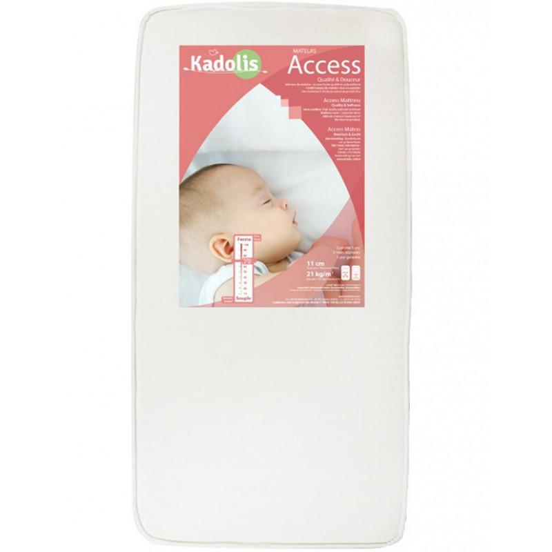 matelas bébé access 60x120 cm kadolis - naturiou
