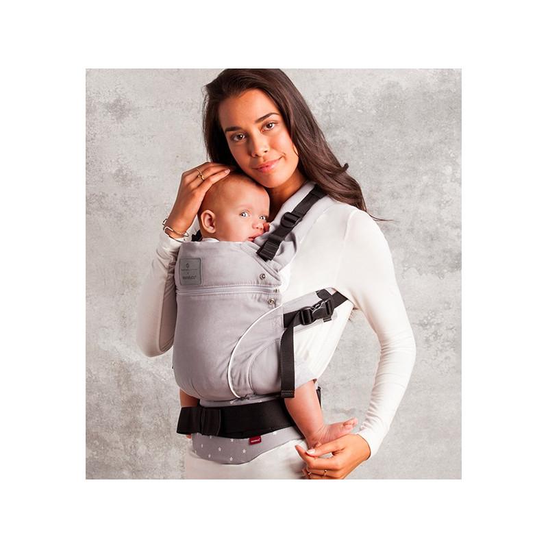 Baby Carrier Manduca Bellybutton Milkystars Not Expensive And - Porte bebe manduca