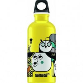 Gourde Sigg Animal Mix Yellow 0,4L