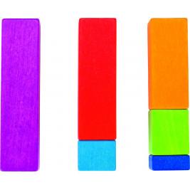 Réglettes de calcul lasuré en bois Goki