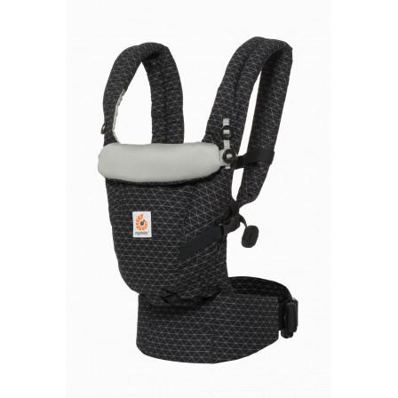 Ergobaby Baby carrier Adapt Geo black - Naturiou