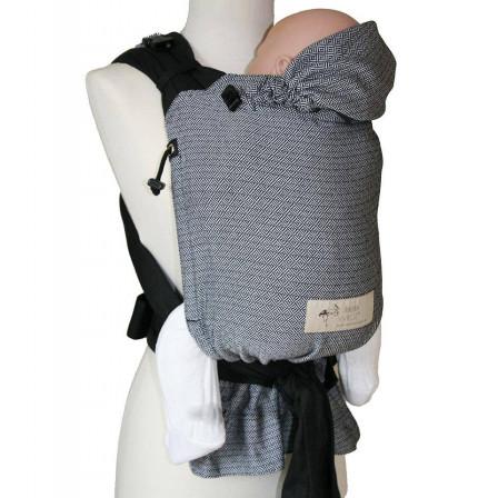 Storchenwiege BabyCarrier Noir Blanc - Naturiou 52ce0d4a1c1