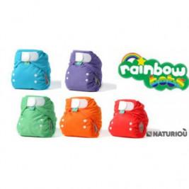 Pack 5 couches lavables Easyfit V5 Totsbots Rainbow