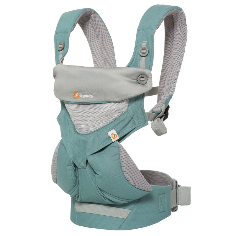 c0db61d665e Ergobaby 360 Baby carrier All Positions Cool Air Mesh Icy Mint ...