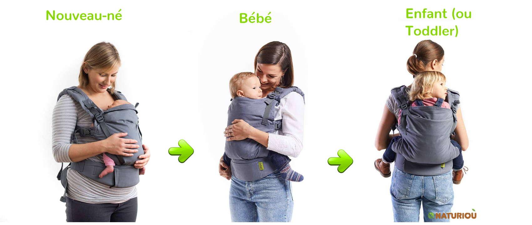 Porte-bébé Boba X évolutif