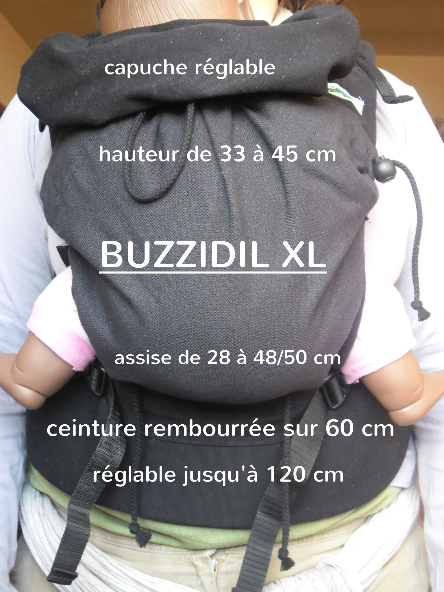 dimensions tablier Buzzidil XL