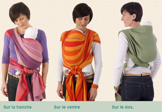 38d02aafa37 Trois manières de porter votre écharpe Storchenwiege