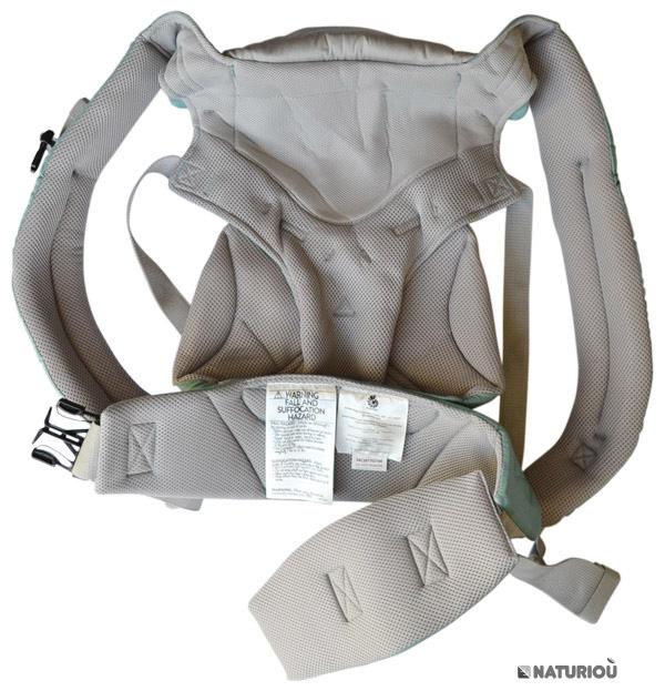 Intérieur du porte-bébé Ergobaby Cool-Air menthe